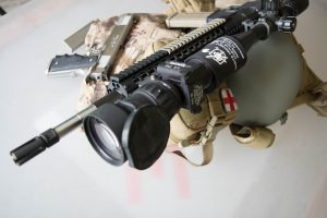 SPR AR15 Build with AN/PVS-30 Night Vision Scope
