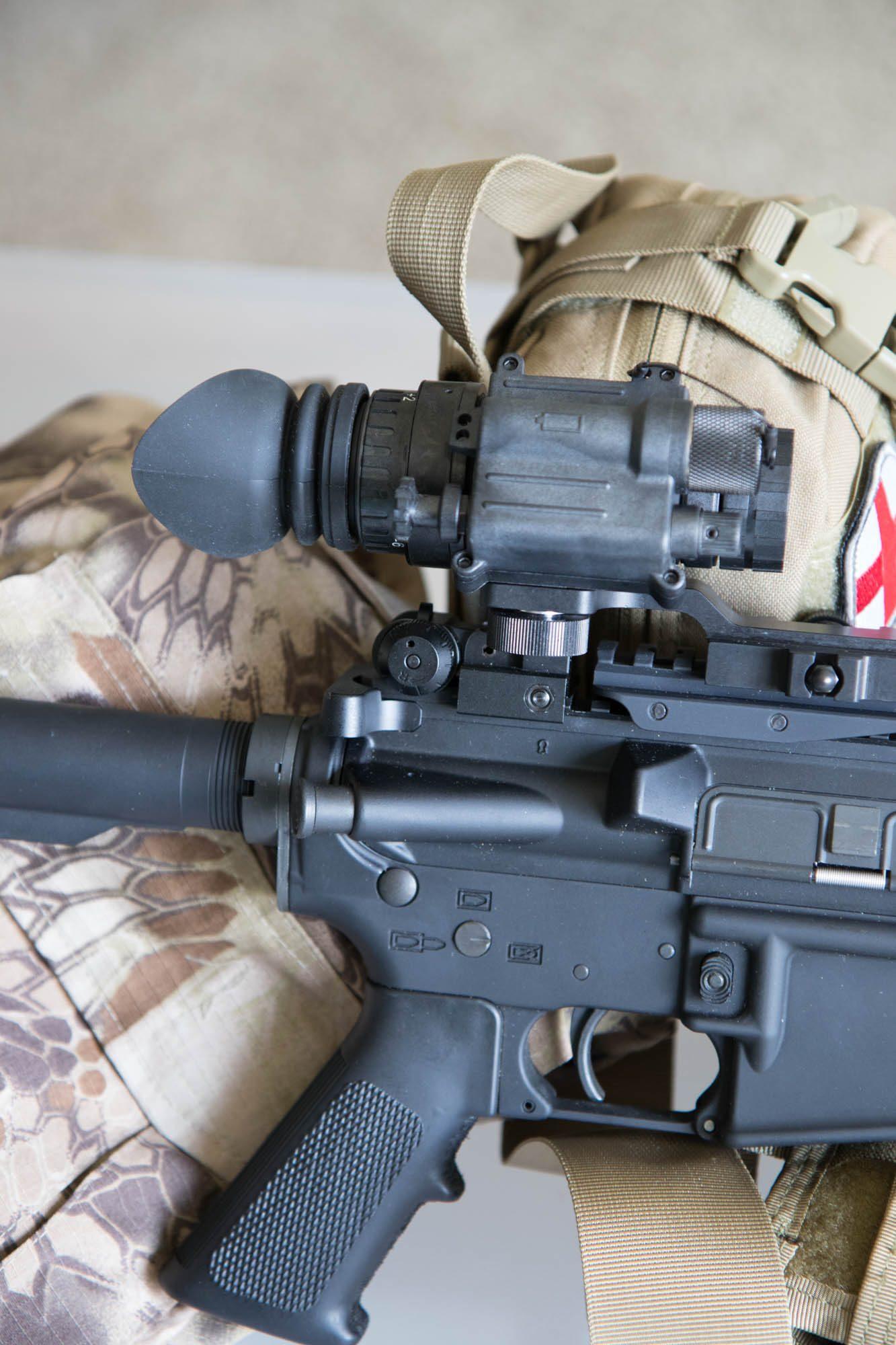 PVS-14 Mounted on AR-15