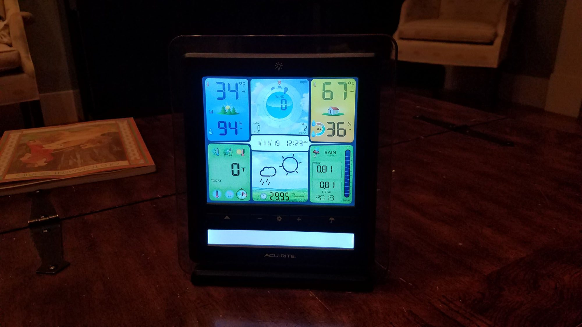 AcuRite Display Backlight